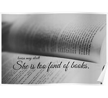 Louisa May Alcott Books Poster