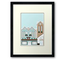 A Little Hotel Boutique Framed Print