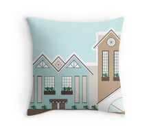 A Little Hotel Boutique Throw Pillow