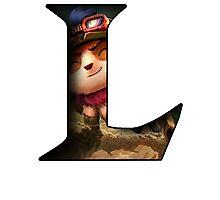 League of Legends - L - Teemo Photographic Print