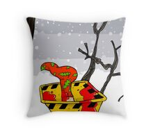 Christmas in Fargo Throw Pillow
