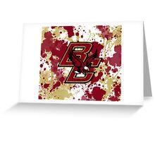 Boston College Greeting Card