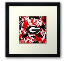 Go Dogs! Framed Print