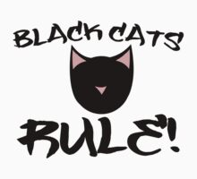 Black Cats Rule! Kids Clothes