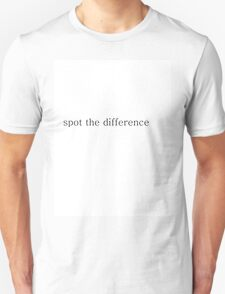 Spot the difference T-Shirt