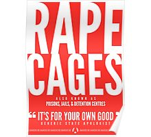 Rape Cages Poster