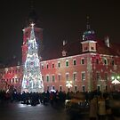 Warsaw Christmas Lights by stuwdamdorp