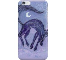 Jumping Fox iPhone Case/Skin