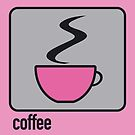 coffee pink by Micheline Kanzy