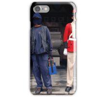 People 4119 Shoeshiners iPhone Case/Skin
