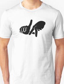 LA Hands white Unisex T-Shirt