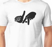 LA Hands white Unisex T-Shirt