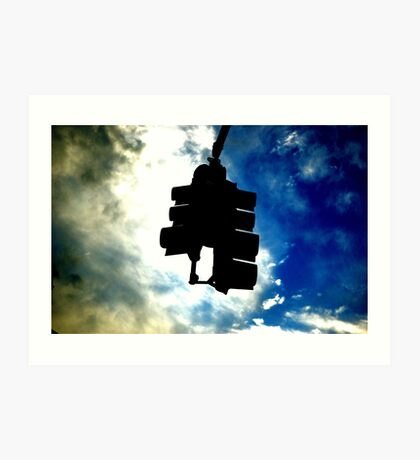 Sky Light Art Print