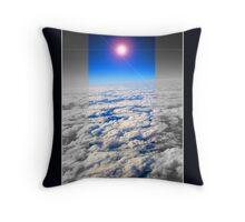 earth above Throw Pillow