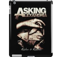 Asking Alexandria Reckless and Relentless iPad Case/Skin