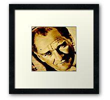 Mustafa Kemal Ataturk Framed Print