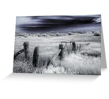 Forgotton Fields Greeting Card