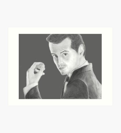 BBC Sherlock Jim Moriarty  Art Print