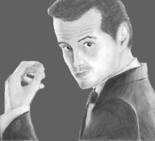 BBC Sherlock Jim Moriarty  by shelbmcintyre