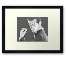 BBC Sherlock Jim Moriarty  Framed Print