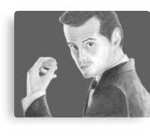 BBC Sherlock Jim Moriarty  Canvas Print