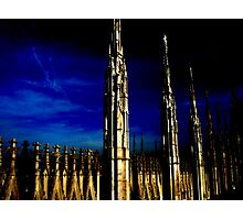 Gothic towers Photographic Print