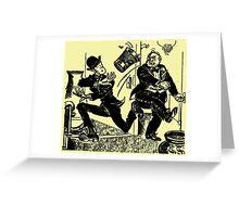 William Klump, Nursemaid Greeting Card