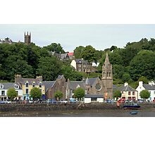 Two Churches , Tobermory Photographic Print