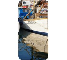 Boats in harbour iPhone Case/Skin