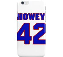 National football player Neal Howey jersey 42 iPhone Case/Skin