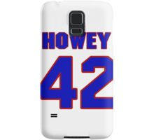 National football player Neal Howey jersey 42 Samsung Galaxy Case/Skin