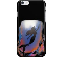 Mermaid reaching Surface iPhone Case/Skin