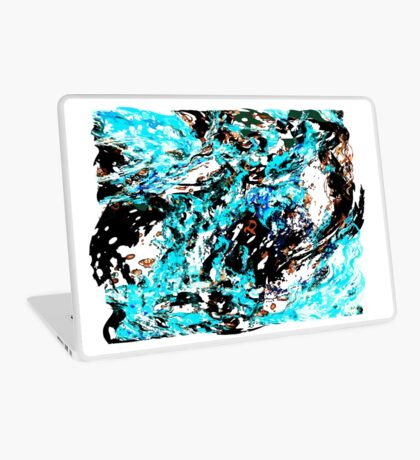 Distortion Fire Laptop Skin