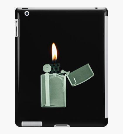 X-ray image of a Zippo lighter  iPad Case/Skin