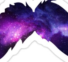 Space Moustache Sticker