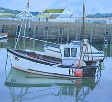 Fishing Boat, West Bay by Tonkin