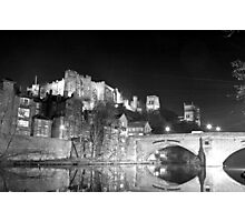 Durham cathedral by night 2 Photographic Print