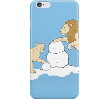 Snow Lions iPhone Case/Skin