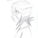 Rukia Kuchiki sketch by Shaun Stevenson