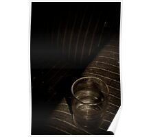 Empty Glass Poster