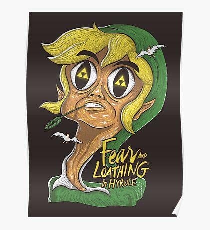 Fear & Loathing in Hyrule Poster