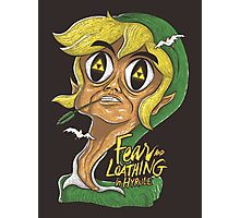 Fear & Loathing in Hyrule Photographic Print