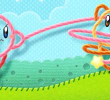 Kirby's Epic Yarn Sticker