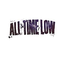 All Time Low Photographic Print