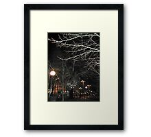 New Year´s Eve in the City Framed Print