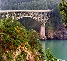 Deception Pass Bridge by Don Wright IPA