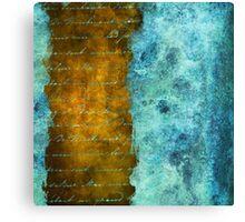 Patina Accents Home Decor Canvas Print
