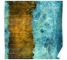 Patina Accents Home Decor Poster