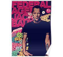 FEDERAL AGENT JACK BAUER Poster