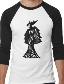 Asian Bride Men's Baseball ¾ T-Shirt